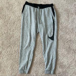 Nike Sweatpant Joggers Size Medium Mens Gray